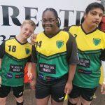 Footballer Trio
