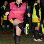 Girl Football Training