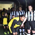 Football The Tunnel