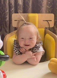 Baby with Crossed Arms
